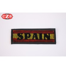 Embossed leather patch mod, SPAIN 2