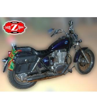Alforjas para Sportsters Harley Davidson mod, APACHE Clásicas