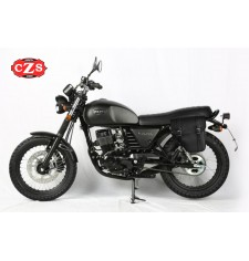 Sacoche pour Hanway Raw 125 Cafe Racer mod, CENTURION Adaptable - GAUCHE