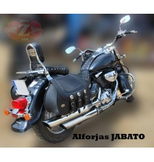 Rigid Saddlebags for Suzuki Volusia mod, JABATO Coco - Adaptable