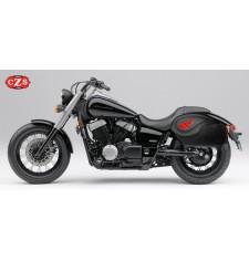 Sacoches Rigide pour Honda Shadow Phantom Aero 750cc mod, VENDETTA - Ailes Honda -